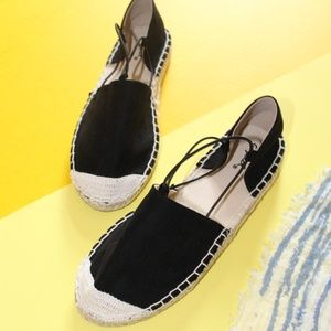 Shoes - 🆕//The Lani// Black Espadrilles Flat